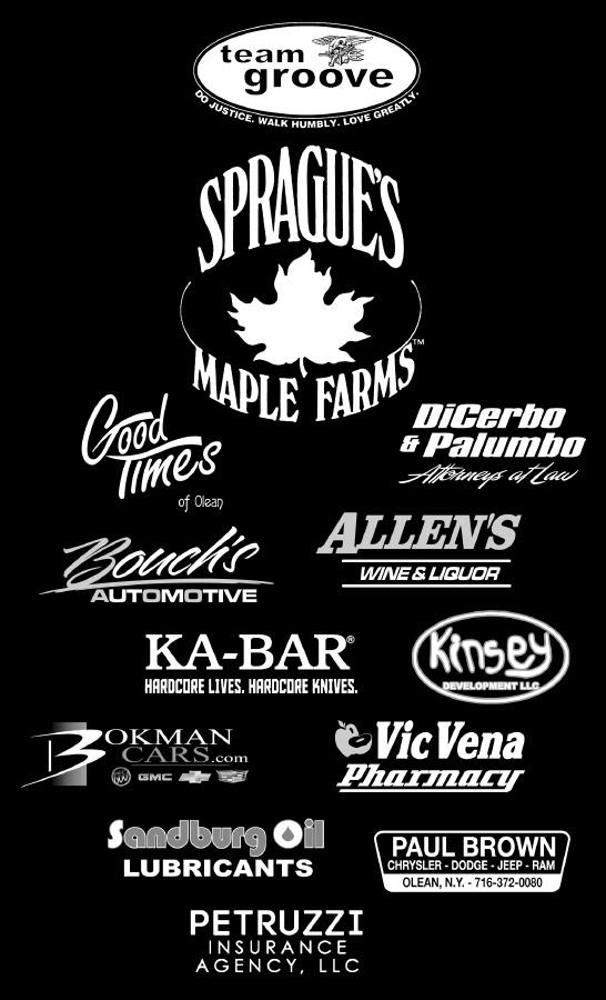 The 2015 T-shirt sponsors